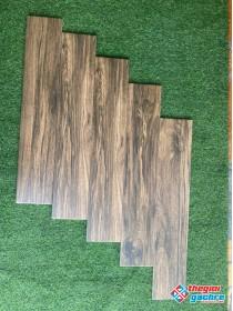 Gạch thanh gỗ 15x80 lót so le