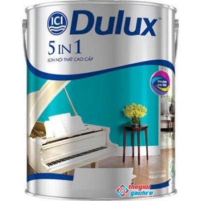 Sơn Dulux Nội Thất Cao Cấp 5 in 1 Lon 5 Lít