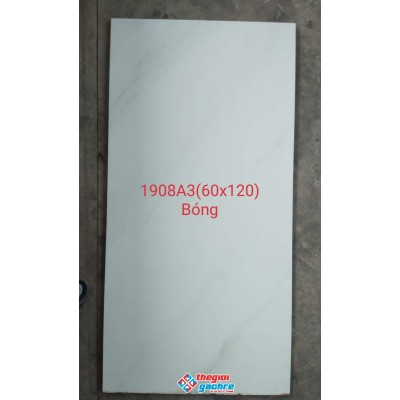 Gạch bóng kiếng 60x120 trắng vân mây giá rẻ