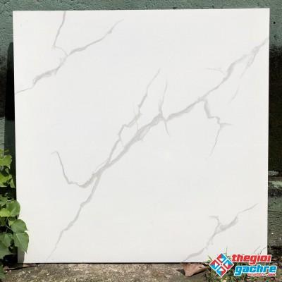 Gạch lát nền 80x80 trắng vân mây giá rẻ