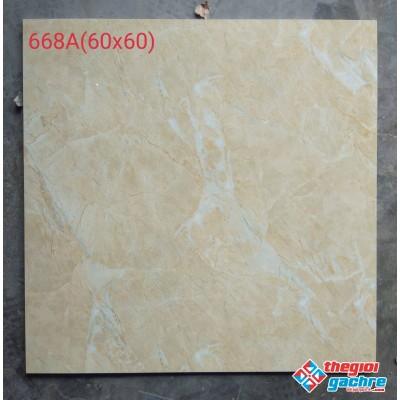 Gạch bóng kiếng giá rẻ 60x60 vân vàng