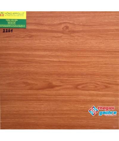 Gạch lát nền vân gỗ 40x40 giá rẻ 2661