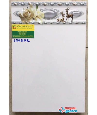 Gạch ốp tường 30x45 trắng trơn giá rẻ 3505