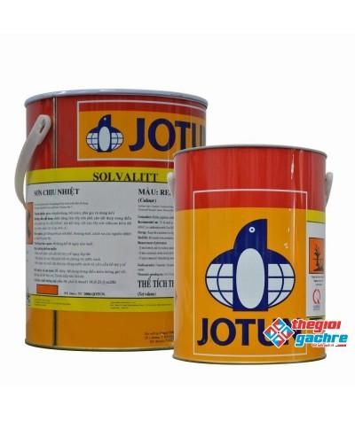 Sơn chịu nhiệt 1 thành phần solvalitt midtherm (260oC) 5Lit