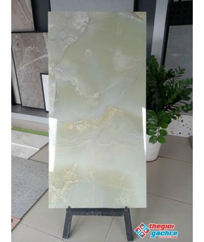 Gạch khắc kim 60x120 vân xanh mới nhất